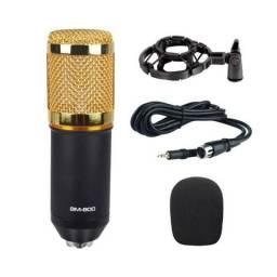 BM800 Microfone condensador com aranha