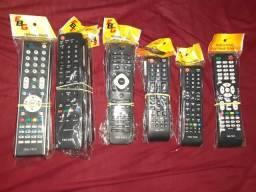 Vendo controle remoto para tvs led lcd e tubo ( novos)