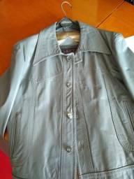 Jaqueta de couro legítimo importada