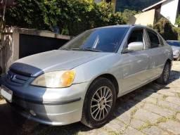 Civic 2001 automático impecável - 2001