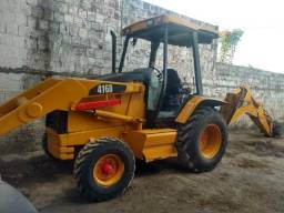 Retro escavadeira Caterpillar 416d 4x2 ano 2004