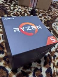 Ryzen 2600+caixa+NF