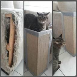 Protetor de sofa e arranhador de gato kit 2 peças