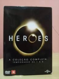 A série Heroes completa