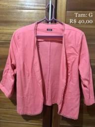 Blazer rosa (NOVO)
