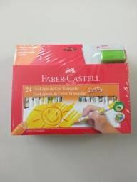 Lapis de cor ( lote )de faber castell
