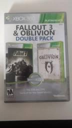 Fallout 3 e oblivion xbox 360 comprar usado  Brasília