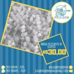 Mídia Filtrante para aquário K1