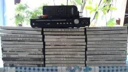 Aparelho DVD Player + filmes