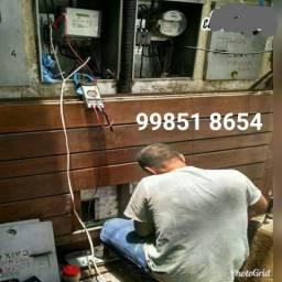 Eletricista Atendemos Emergências 24 Horas Chama no ZapZap Agora 99851 8654