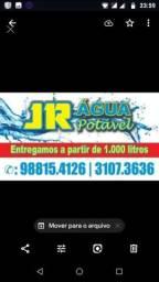 Jr água potável de qualidade com todos os registros do órgão competente