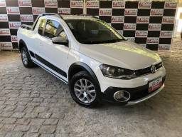 Vw - Volkswagen Saveiro Cross CE 1.6 Branca 2013/2014 - 2014