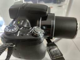Divido em nos cartões! Câmera Sony HX1 + Itens