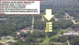 Terreno parcelado com R$6.500(entrada) em Itapoá-SC!!!