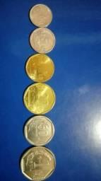 Cono monetário vigente do Peru