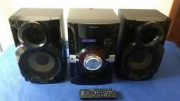 System Panasonic Sa-Akx14 Todo Funcional, Leia Descrição