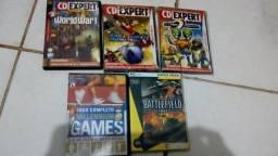5 jogos para pc cd expert original, usado comprar usado  Lençóis Paulista