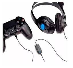 Fone Ouvido Gamer Com Microfone pra Manete Ps4 Celular Jogo Online Celular
