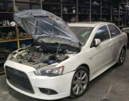 Sucata Mitsubishi Lancer 2013 para retirada de peças comprar usado  Ribeirão Pires