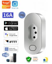 Tomada Inteligente Wifi Smart Home 16A com Monitoramento de Energia App