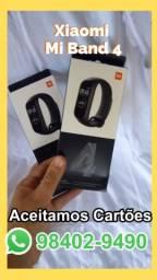 Relógio Xiaomi Mi Band 4 lacrado (aceitamos cartão)