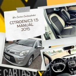 Citroen C3 1.5 Manual 15/15 Não Consultamos Score - 2015