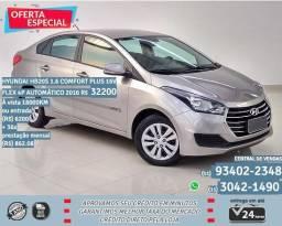 Hyundai prata hb20 comfort Plus flex 4p automático 2016 R$32299 18099km - 2016