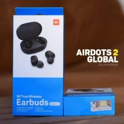 Fone Bluetooth Xiaomi Airdots 2 (original e lacrado) *promoção