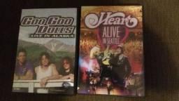 Dvds musicais show originais