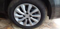 Troco rodas 15 de ferro em 17