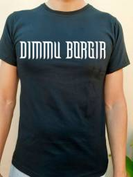 Título do anúncio: Camiseta Banda, Rock, Metal DIMMU BORGIR