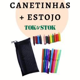 Canetinhas + estojo