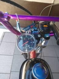 Bike motorizada com quadro de Monark