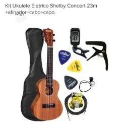 Ukulele Eletrico Shelby Concert 23m