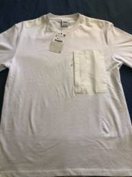 Título do anúncio: Camiseta Branca Zara P/M