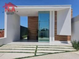 Casa com 3 dormitórios à venda por R$ 434.000 - Jacunda - Aquiraz/Ceará
