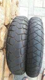 Título do anúncio: Par de pneus Michelin anakee adventure para BMW GS 1200