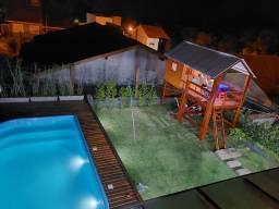 Lindo sobrado com piscina