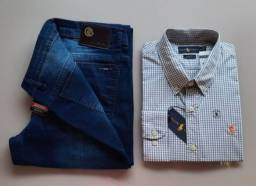 Camisa gola Polo e Camiseta