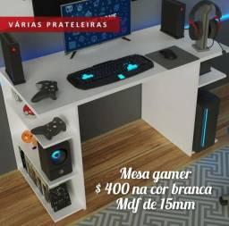 Mesa gamer em Mdf