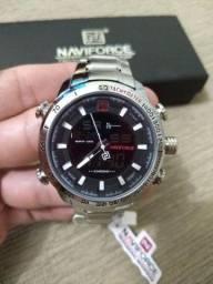 Relógio Naviforce (NF9093) Prata