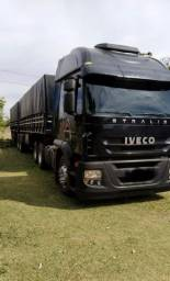 Título do anúncio: Caminhão iveco stralis 2008 conjunto impecavel