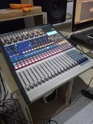 Mesa Digital E Interface Presonus Studiolive 16.4.2 Firewire 16 grava 16 canais