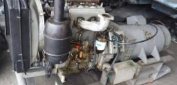 Mwm 3 cilindros com gerador 30kva acoplado