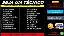 Título do anúncio: Curso Tenico - Ouro Preto
