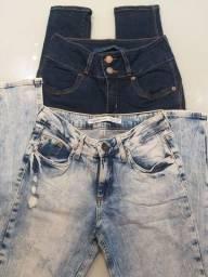 Título do anúncio: Calças jeans feminina DAMYLLER ( original)
