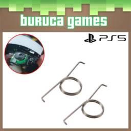 Título do anúncio: Par de molas dos botões L2 R2 do controle DualSense de PS5 (Novo)