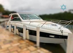 Lancha cimitarra 36 sht barco iate ferrado azimute axtor