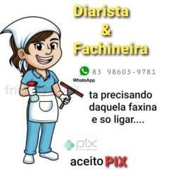 Título do anúncio: Faxineira e Diarista...