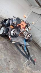 Título do anúncio: Quadriciclo 300cc carretinha basculante